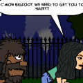 Evon and Bigfoot