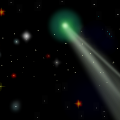 Comet Lovejoy Before Galaxy M6