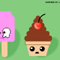 Kawaii Ice Creams