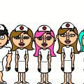 Nurses at work!!