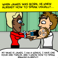 James's history