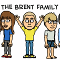 Me My Bitstrips friends and Family