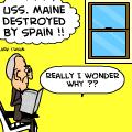 Spanish American War Cartoon