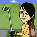 the same comic of jonathong playing golf everyday