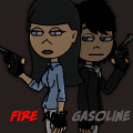 fire and gasoline