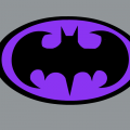 Batman In Purple