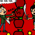 APPLE WAR!!!!!!!!!!yeah