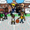 Rainy Streetball