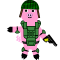army piglet for erin