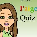 THE PAIGE QUIZ. take it!