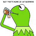 frog and tea emoji