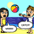 Beach Ball Mischief