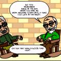 2 GRUMPY OLD MEN ON 1 PORCH