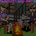 Backyard Camping :)