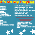 What's on my playlist? (remix)