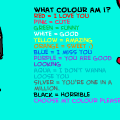 what color are you?