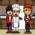 ASTRIAN AND DANTE COOKING!