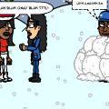 snowball war!