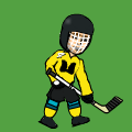 Me, In Hockey Uniform