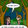 'lost'