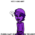 purple guy questions