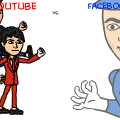 facebook vs. youtube