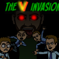 The V invasion