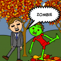 Zombie on the lose