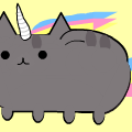 Unicorn Cat (for silverheart)