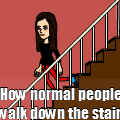 The staircase....DUHDUHDUH