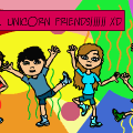 WE'RE LIEK... UNICORN FRIENDS!!!!!! XD