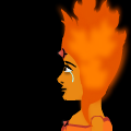 Flame Princess is Sad  
