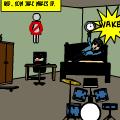Jake wakes up