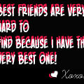 To my bestest buddie, KIA! 