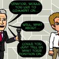The Senator's Press Conference