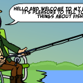 Fishing trial for men