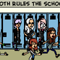 Goths Rules The School