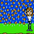 its raining cookies!!!!!!