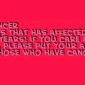 help cancer