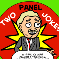 Those two panel jokes