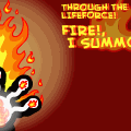 summon FIRE
