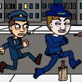 A cop's chores.