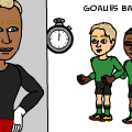 Goalies back in time