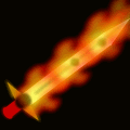 THE BLADE OF PURE FIRE