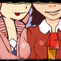 kuriyama mirai & uchiha sarada