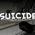 Anti-suicide poster