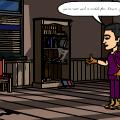 majora's mask scene