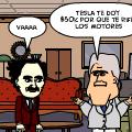 Tesla y Edison