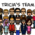 Tricia's team