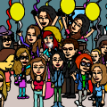 All My Friends On Bitstrips   
